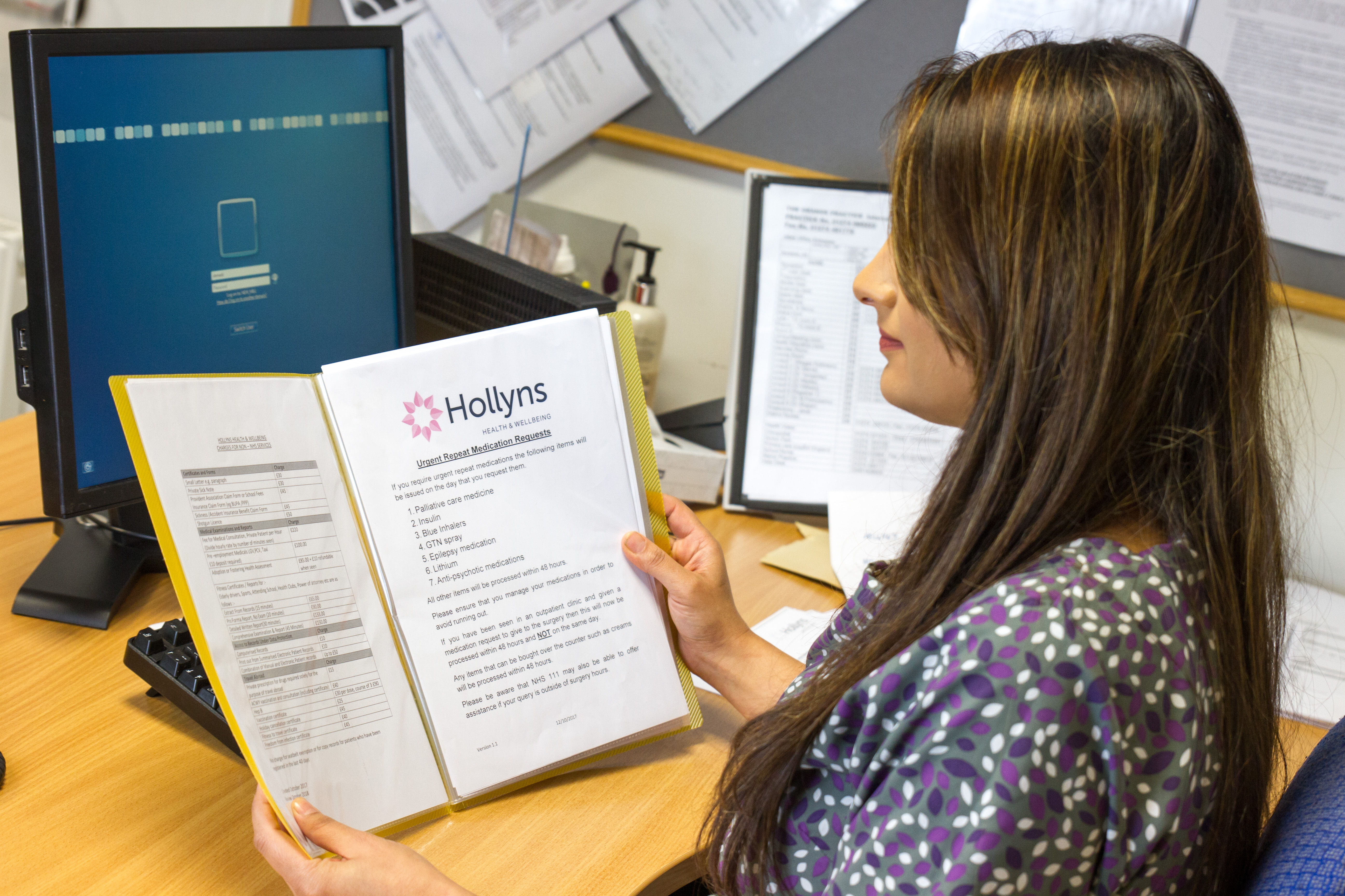 Allerton Admin Worker 4 Hollyns Health Wellbeing